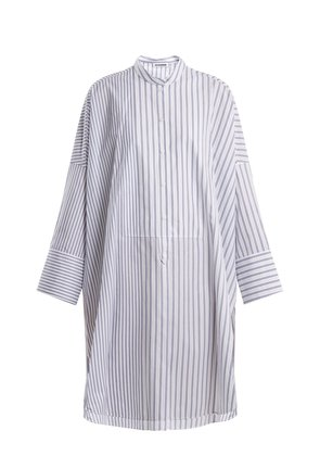 Estelle striped cotton shirtdress