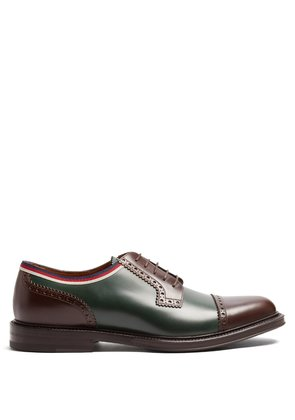Beyond leather derby shoes