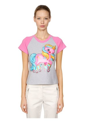 LITTLE PONY SLIM FIT JERSEY T-SHIRT