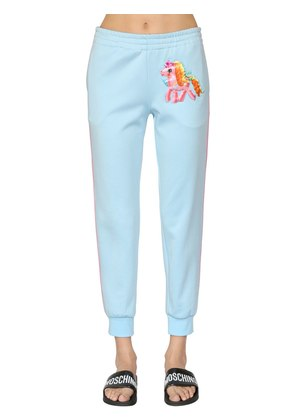 LITTLE PONY COTTON BLEND SWEATPANTS