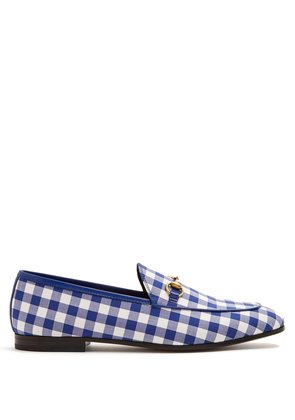 Jordaan gingham loafers