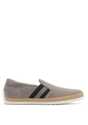 Pantofola suede slip-on trainers