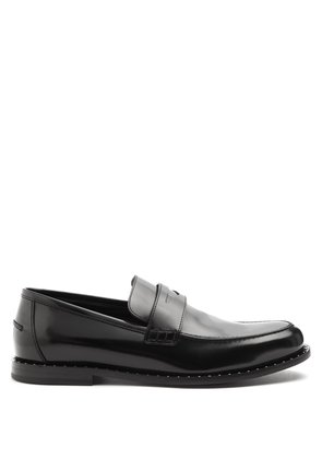 Darblay stud-embellished leather penny loafers