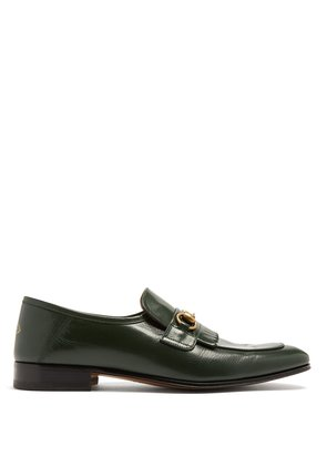 Harbor leather loafers