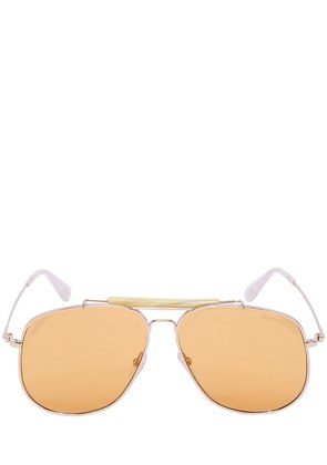 CONNOR LARGE AVIATOR SUNGLASSES