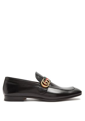 Donnie GG leather loafers