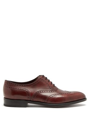 Stowey leather brogues