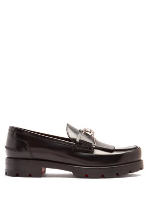 'Bubbly' leather loafer
