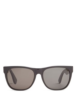 Classic black acetate sunglasses