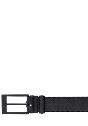 35MM CONTEMPORARY EMBOSSED LEATHER BELT