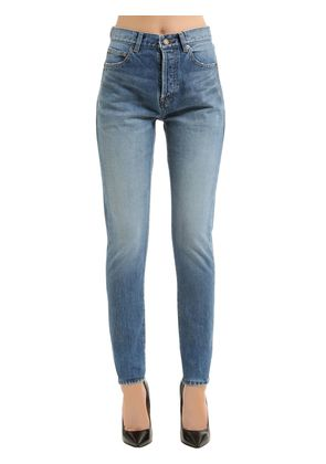 TIGHT SLIM FIT COTTON DENIM JEANS