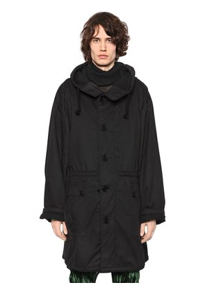 OVERSIZED HOODED COTTON PARKA
