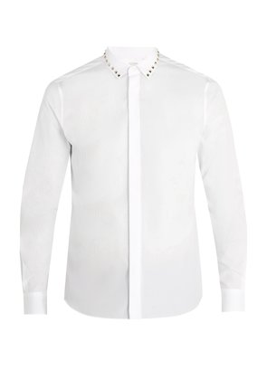 Rockstud Untitled #5 single-cuff cotton shirt