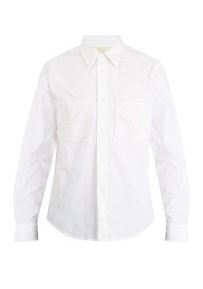 Lincoln cotton-twill shirt