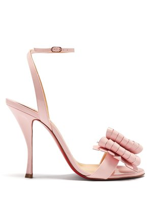 Miss Valois 115 patent-leather sandals