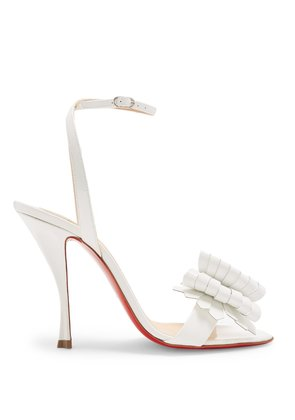 Miss Valois 85 patent-leather sandals