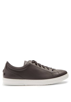 Cash low-top leather trainers