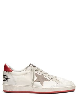 Ball Star low-top leather trainers