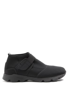 High-top neoprene trainers