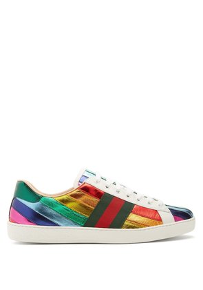 New Ace low-top leather trainers