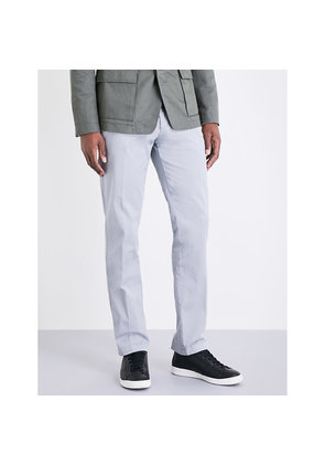 Slim-fit tapered chinos