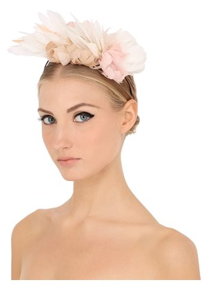 FEATHER FLOWERS HEADBAND