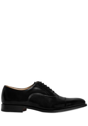 DUBAI BRUSHED LEATHER OXFORD SHOES