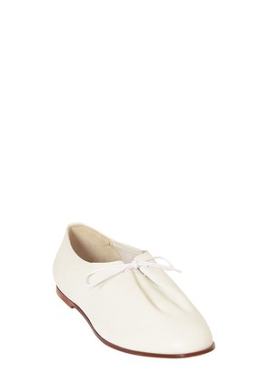 BRUSHED LEATHER MATTHIEU LACE-UP SHOES