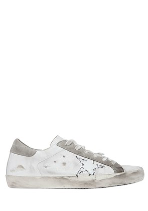 20MM SUPER STAR LEATHER SNEAKERS