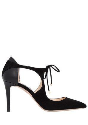85MM VANESSA SUEDE PUMPS