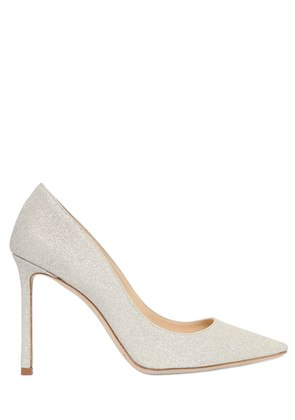 100MM ROMY DUSTY GLITTER PUMPS