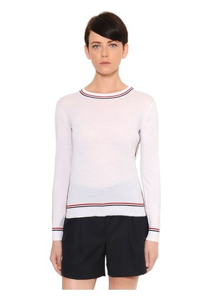 FINE MERINO WOOL KNIT SWEATER