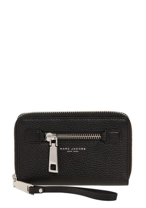 GOTHAM ZIP AROUND WALLET W/ WRISTLET