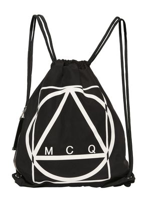 MCQ TECHNO CANVAS BACKPACK