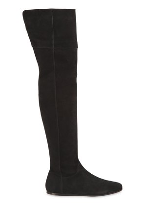 10MM SUEDE OVER THE KNEE BOOTS