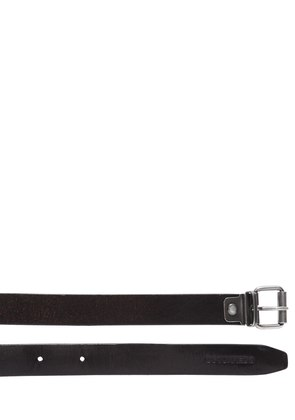 20MM CHAINED LEATHER BELT