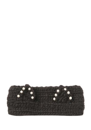 KAT EMBELLISHED WOOL HEADBAND