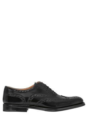 20MM BROGUE BRUSHED LEATHER SHOES