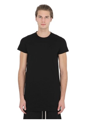 DRKSHDW TWISTED DOUBLE COTTON T-SHIRT