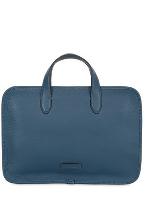 RENZO LEATHER BRIEFCASE