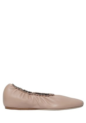 10MM LEATHER BALLERINAS