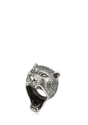PUMA STERLING SILVER RING