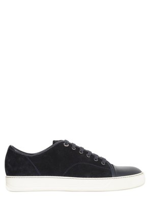 SUEDE & SMOOTH LEATHER SNEAKERS