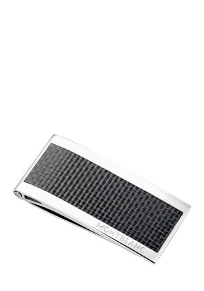 STAINLESS STEEL & CARBON MONEY CLIP