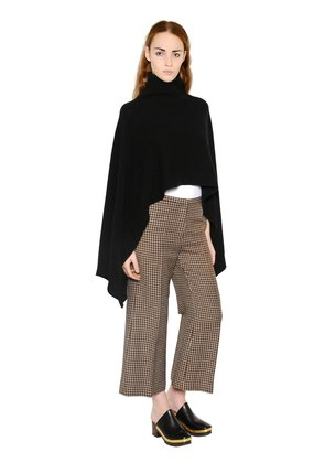 WOOL & CASHMERE PONCHO