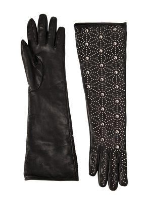STUDDED NAPA LEATHER GLOVES