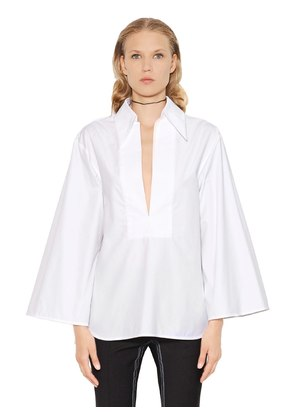 AMTHYST COTTON POPLIN SHIRT