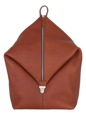 MONO STRAP LEATHER BACKPACK