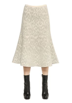 MARVITA WOOL BOUCLE KNIT SKIRT