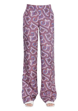 MITRANA PRINTED SILK PANTS